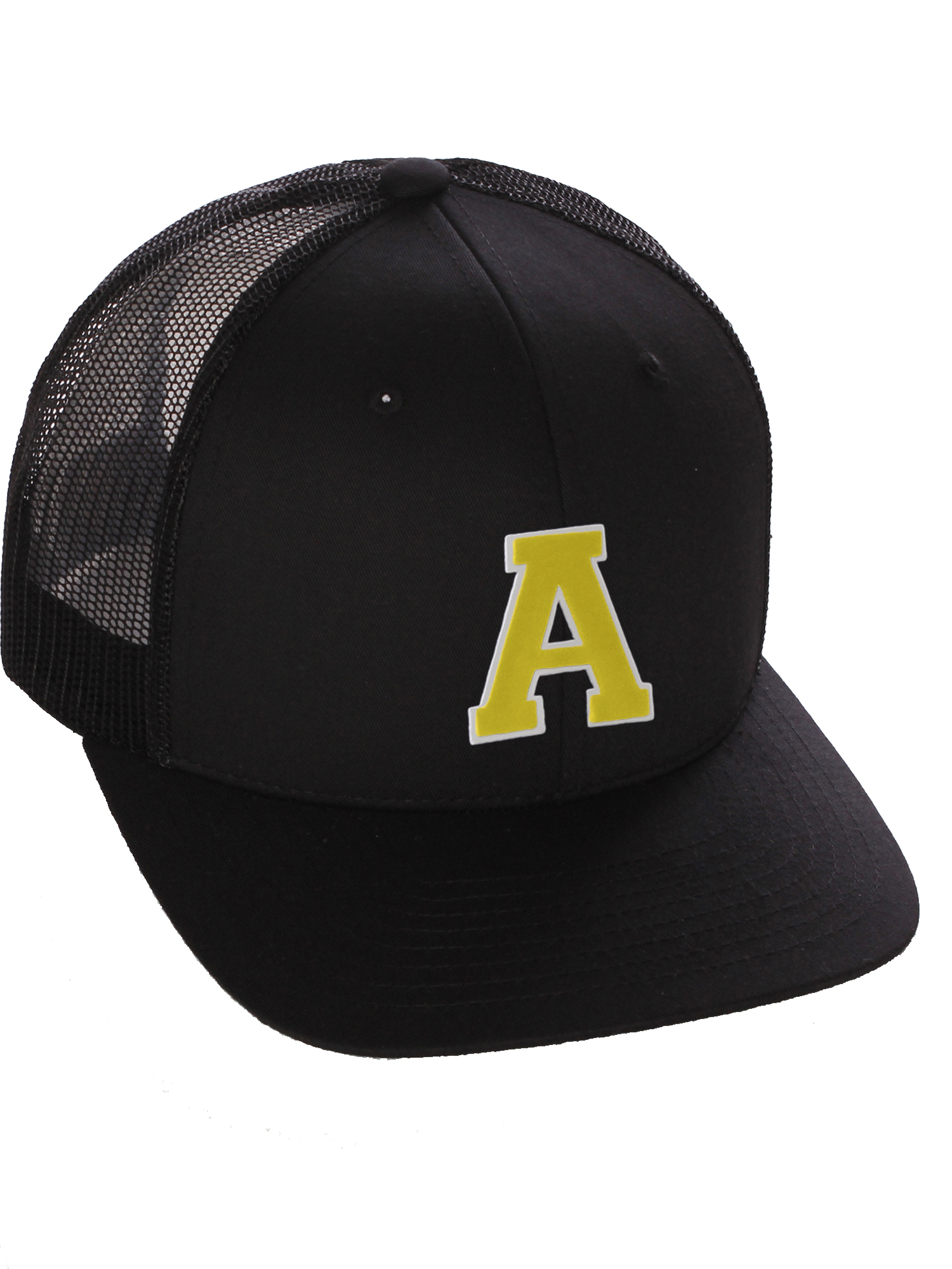 Pilot Gold Embroidered Acrylic Adjustable Structured Baseball Hat One Size